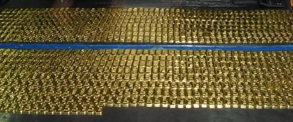 part of 124 kg gold seized