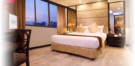 Grand President Hotel bedroom