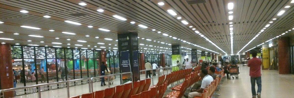 arrival concourse hall