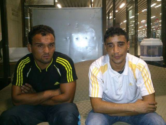 two moroccans arrested