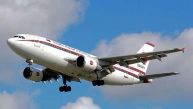 Photo of Biman Bangladesh flight narrowly escaped severe accident