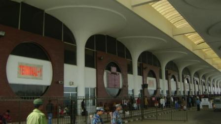 Departure terminals of HSI Airport