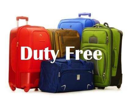 duty free baggage