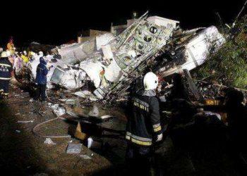 Taiwan Air Crash-TransAisa Airlines