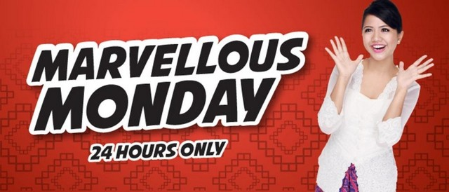 Marvellous Monday offer-Malindo Air