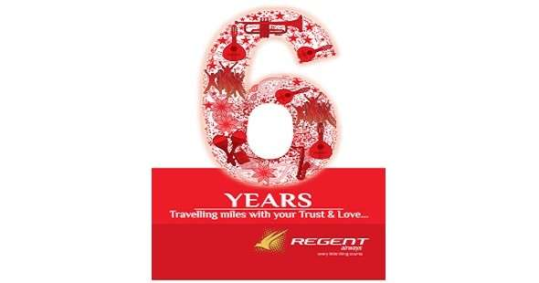 Regent air completes 6 year