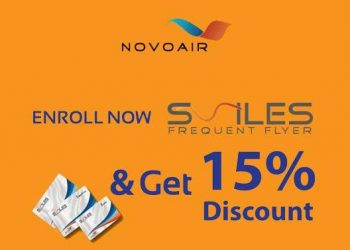 novoair discount march 2019