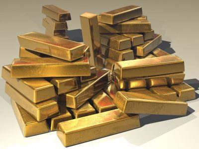 gold bars stack